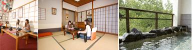 湯本温泉ホテル対滝閣